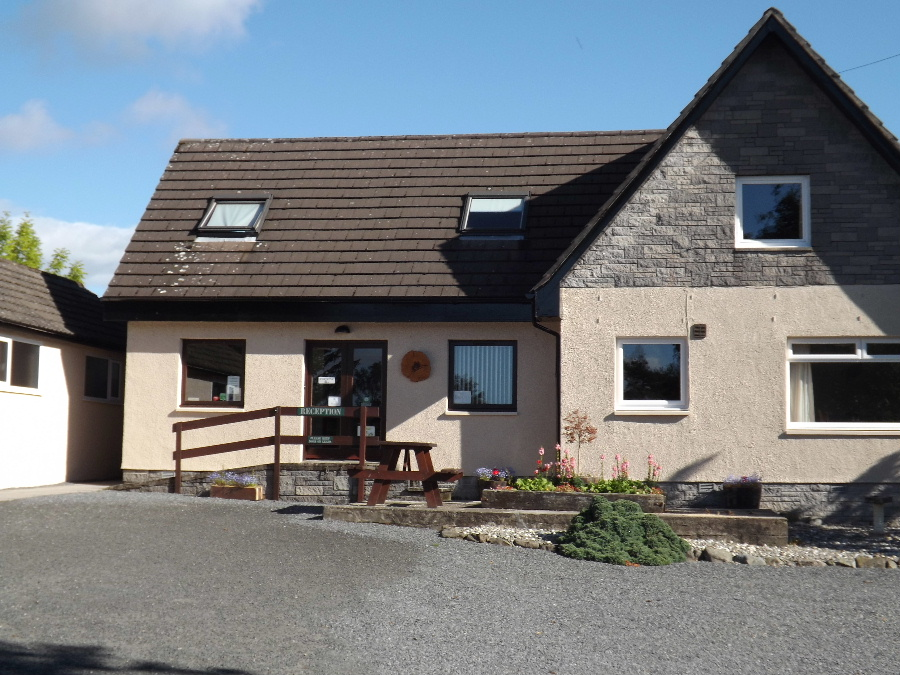 The shop at Glentrool Camping and Caravan Site