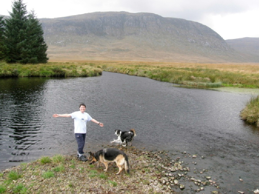 Enjoy the vast wilderness when you stay at Glentrool Camping and Caravan site