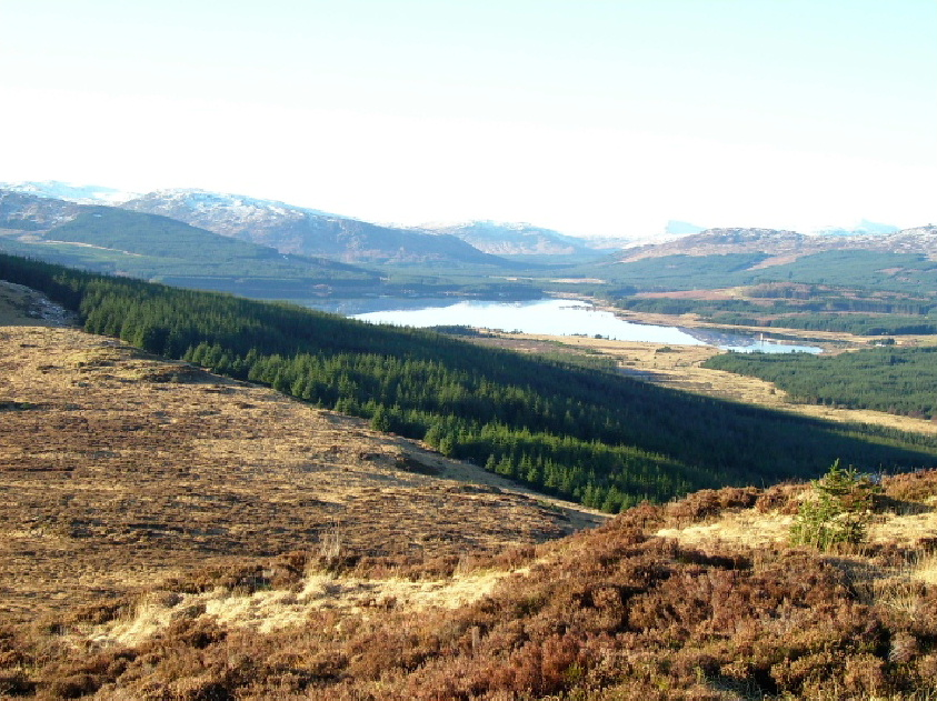 The Galloway Hills in South-West Scotland