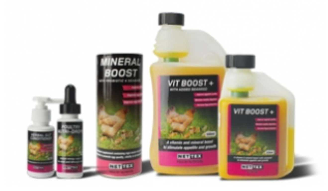 Nettex Health and Nutrician Mineral boost vit boost