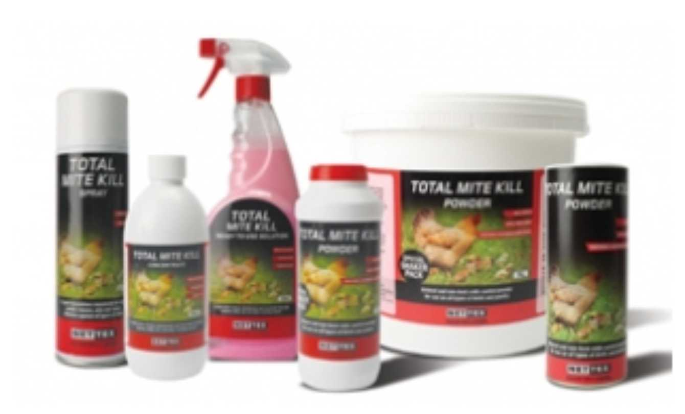 Nettex Total Mite Kill Range
