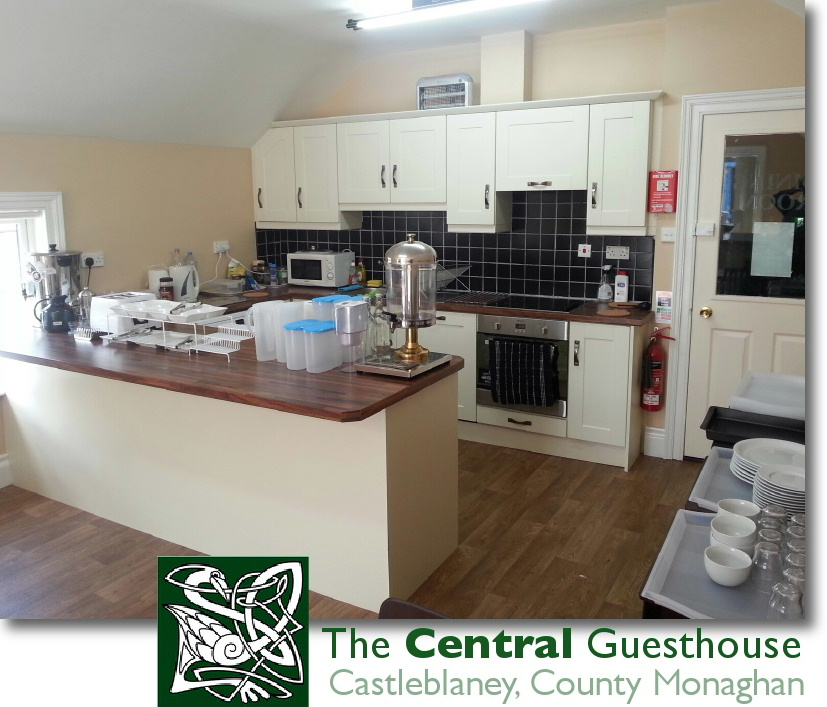 The Central Guest House Castleblayney offers guests kitchen faciiities