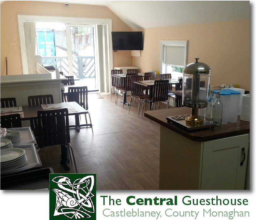 The Central Guest House dining room