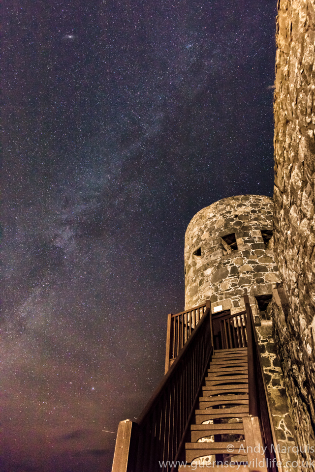 Milky Way at Rousse Tower 4295