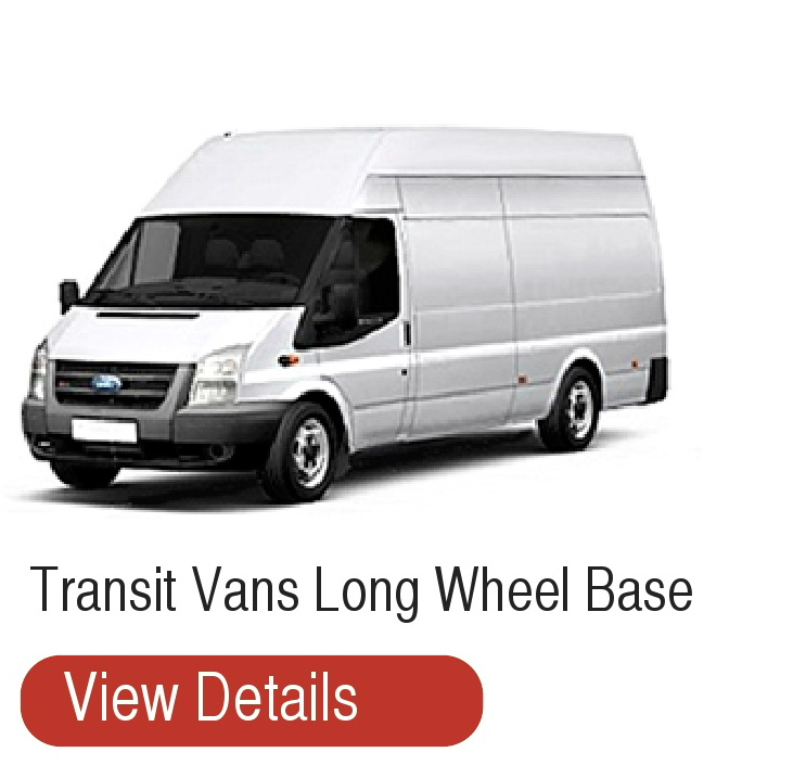 Long wheel base Transit vans for hire T Mac Van Hire Dumfries