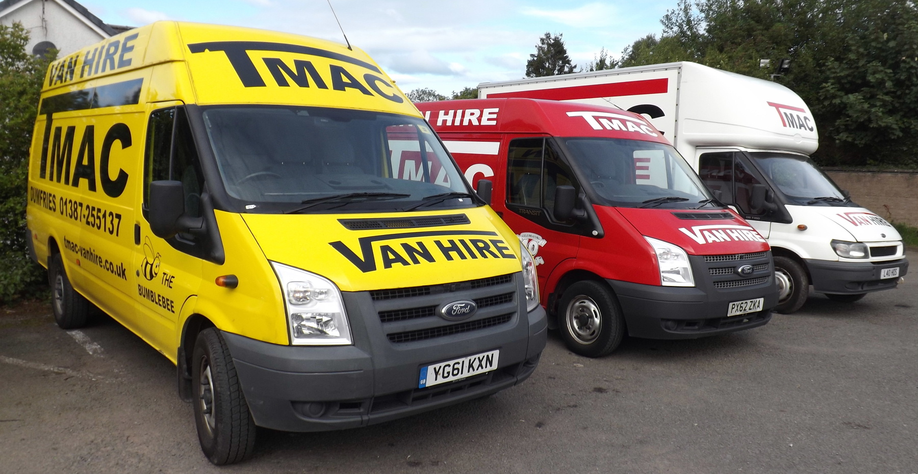 T Mac Van Hire Dumfries - the areas leading van hire specialists