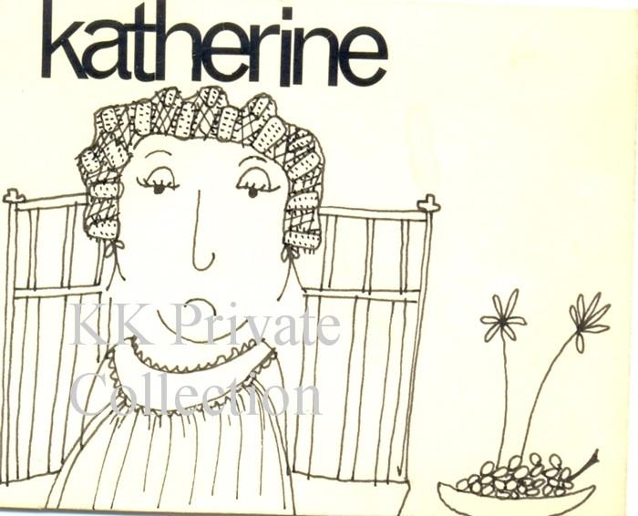 Katherine Kath Caricature