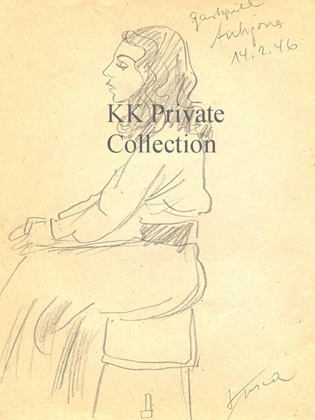 Katherine Kath Antigone 1946