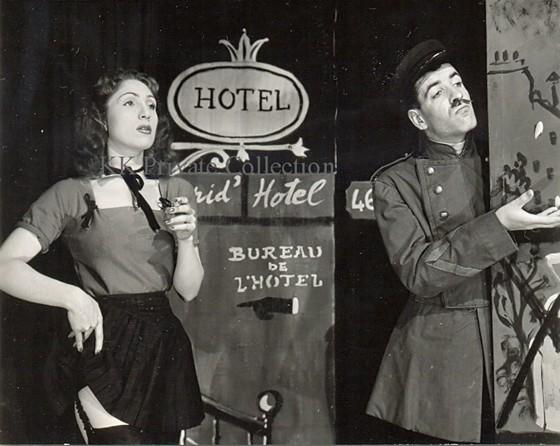 Katherine Kath Irma La Douce Paris 1944
