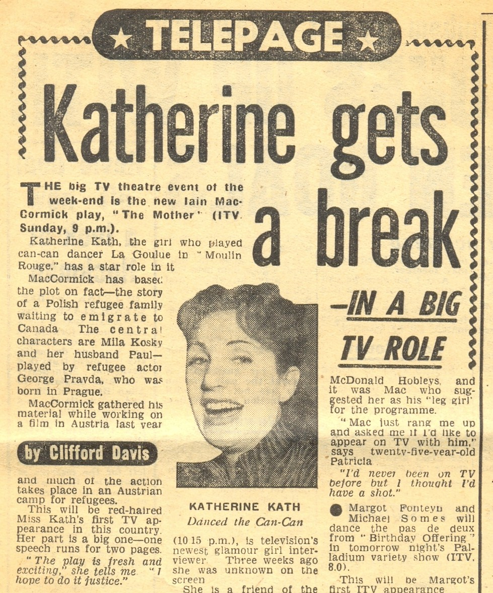 Katherine Kath Press Cutting