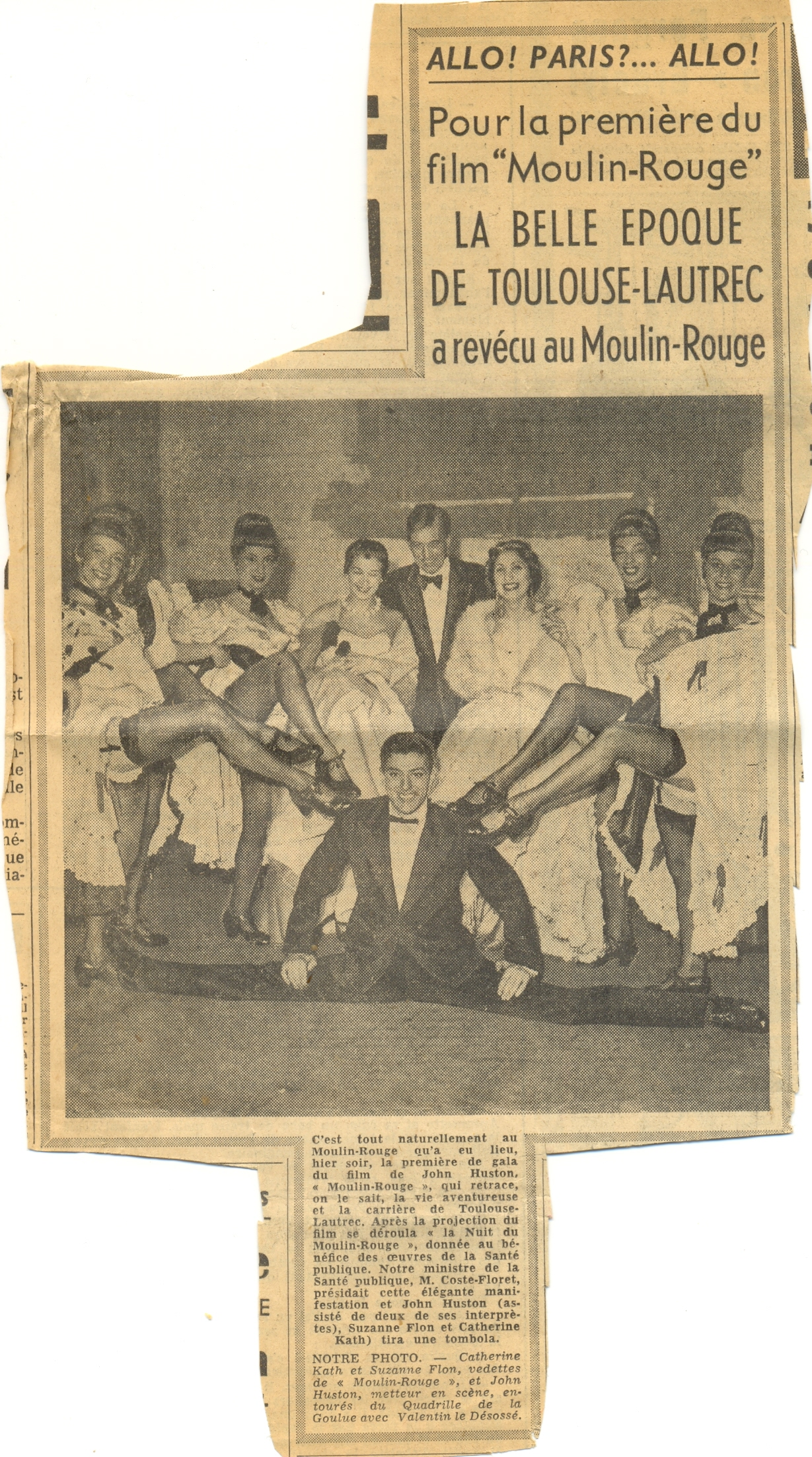 Katherine Kath Press Cutting Moulin Rouge