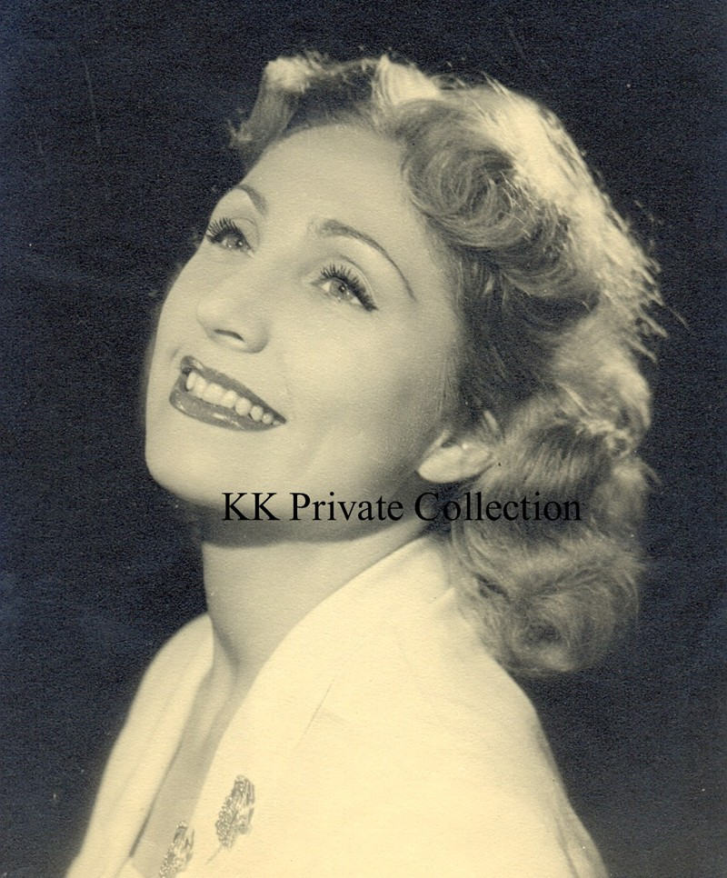 Katherine Kath Paris 1950