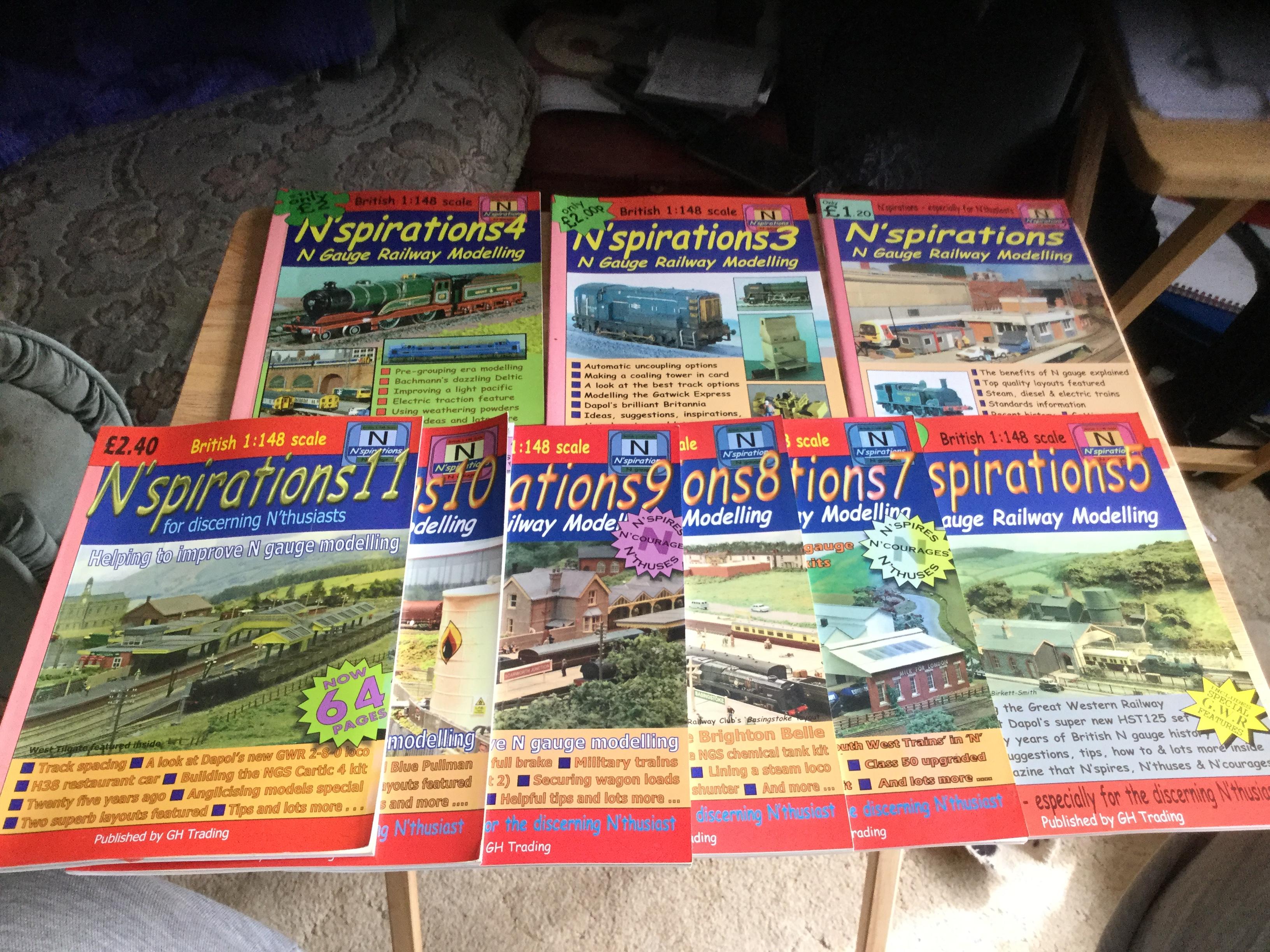 N'spirations Magazine set