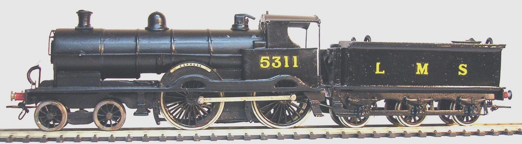 4010 LNWR / LMS Precursor 4-4-0