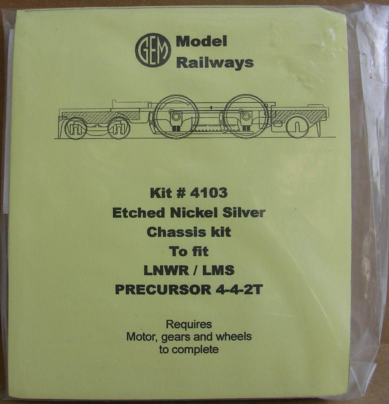 4103 Precursor 4-4-2 Chassis