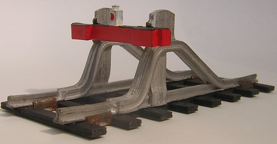 4533 Buffer Stop (rail built)