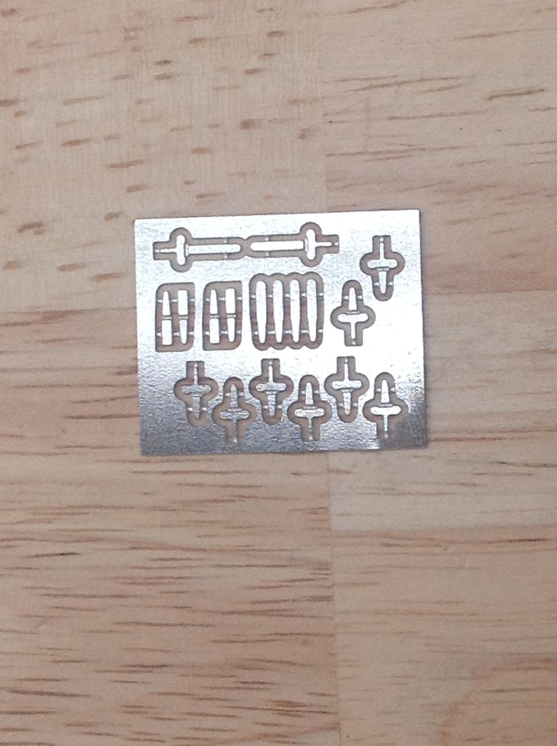 4901 Loco Lamp Irons