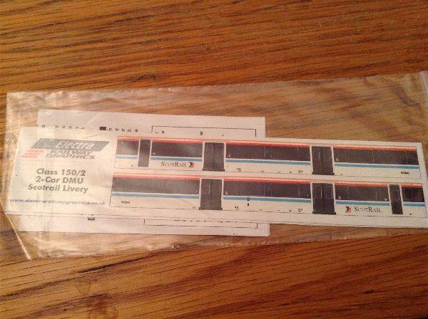 Electra 150/2 DMU 2 car Scotrail Livery