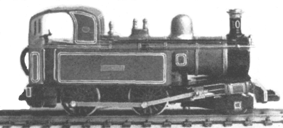 9301 Beyer Peacock 'G H Wood' 2-4-0T