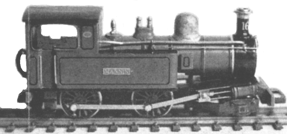 9302 Beyer Peacock 'Mannin' 2-4-0T