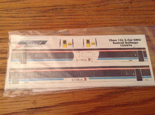 Electra Class 156 2 car DMU Scotrail 156496