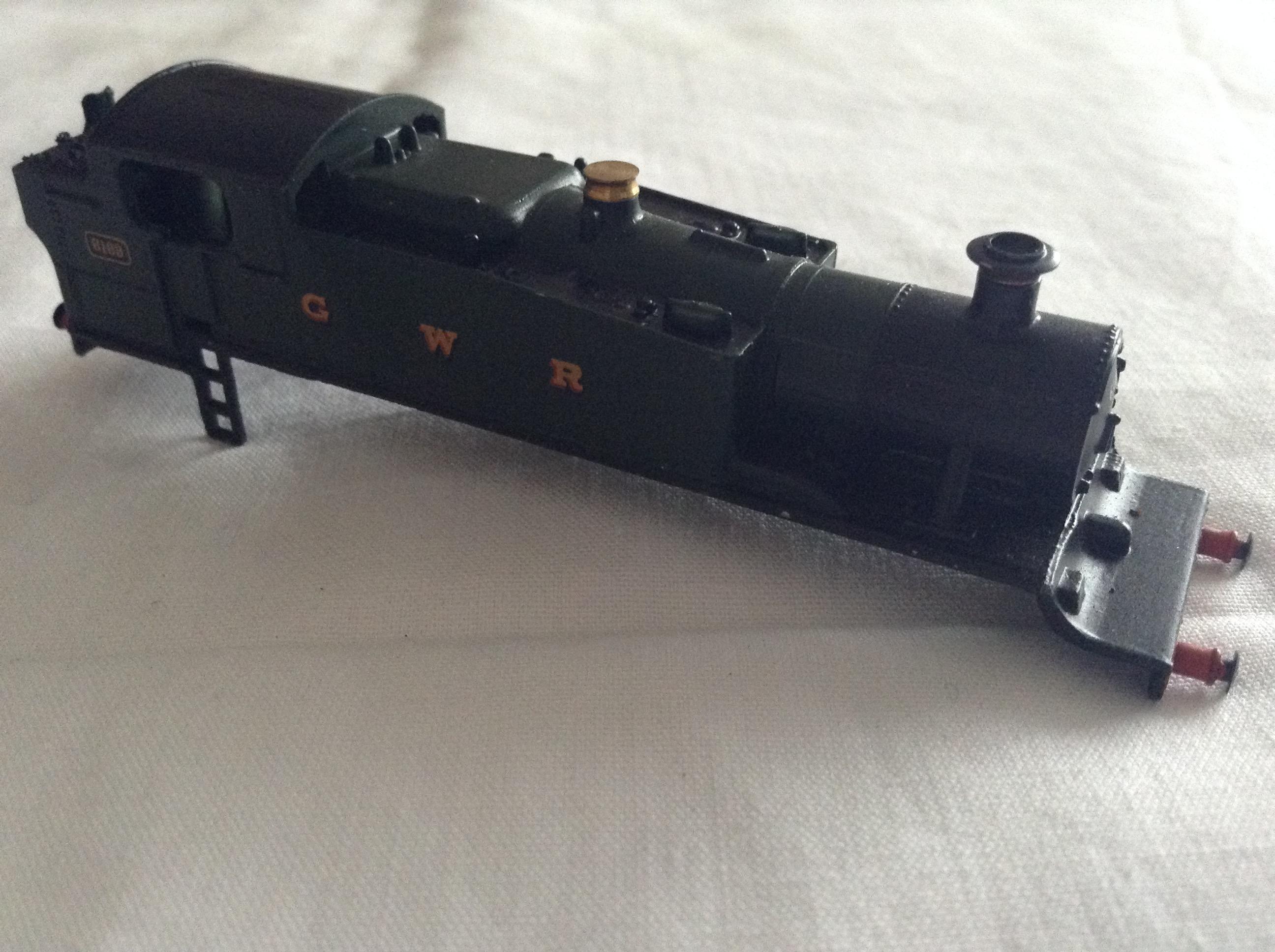 6169 - GWR Green Prairie Tank body