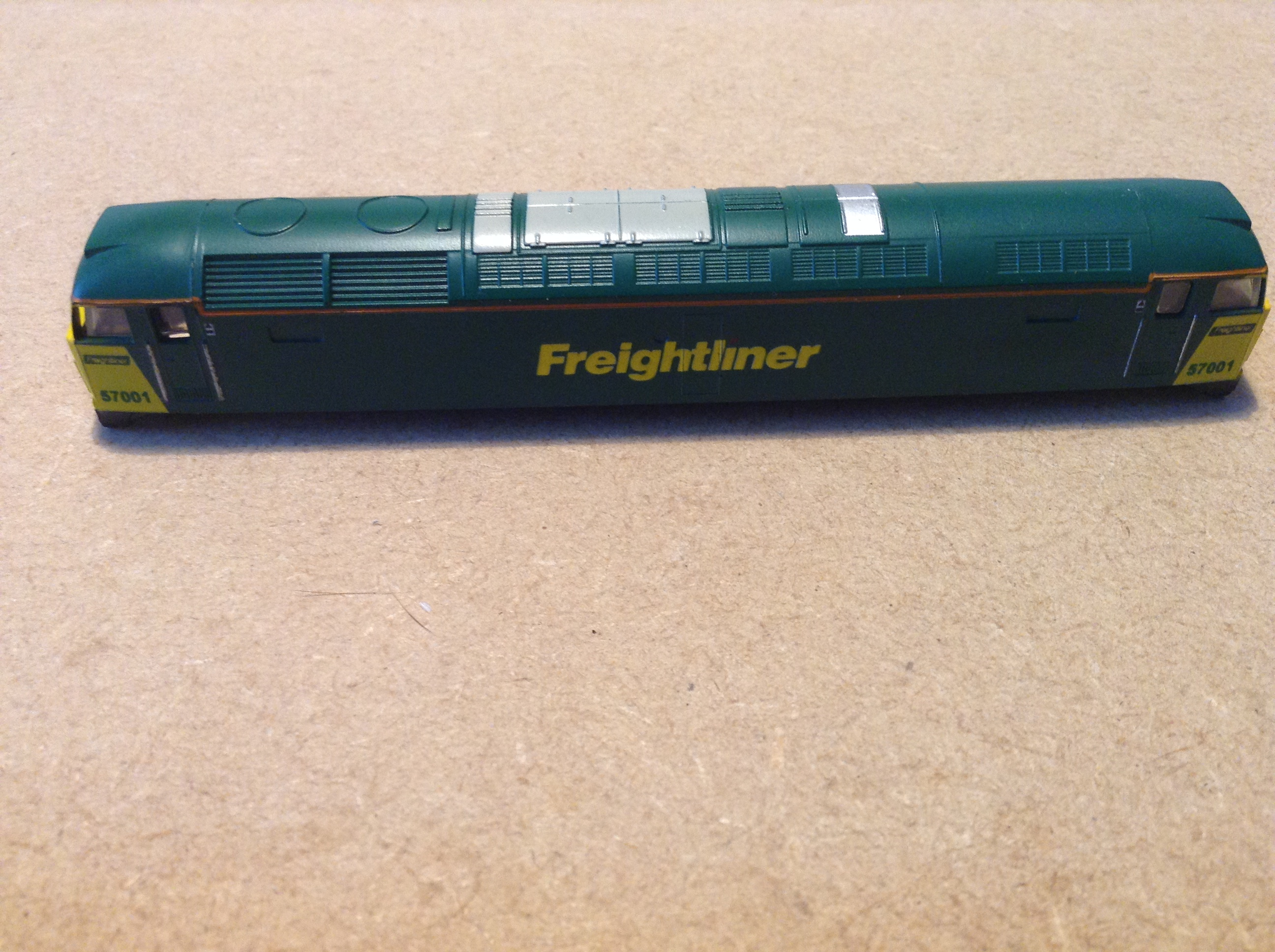 Farish Class 57 57001 Freightliner Livery