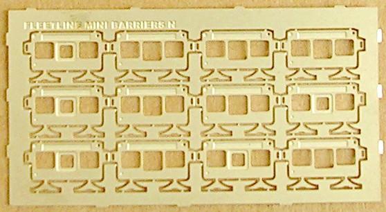 N708 Modern Mini Barriers
