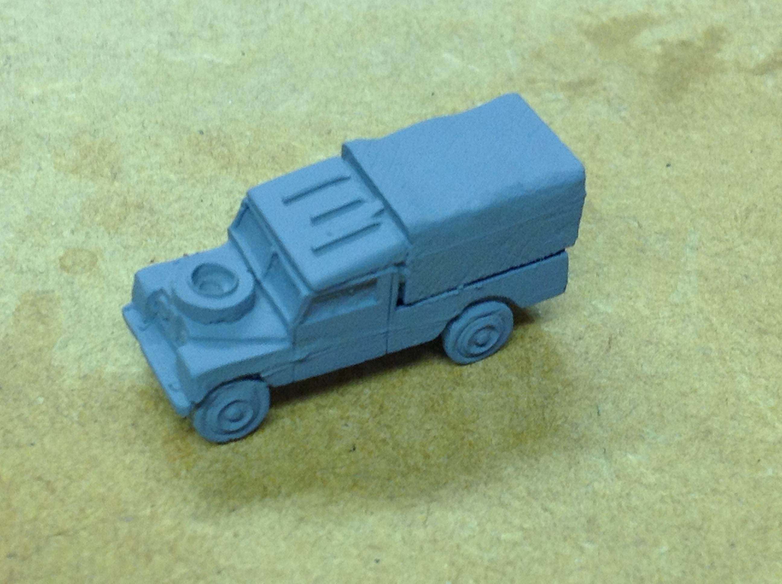 N203  Land Rover LWB