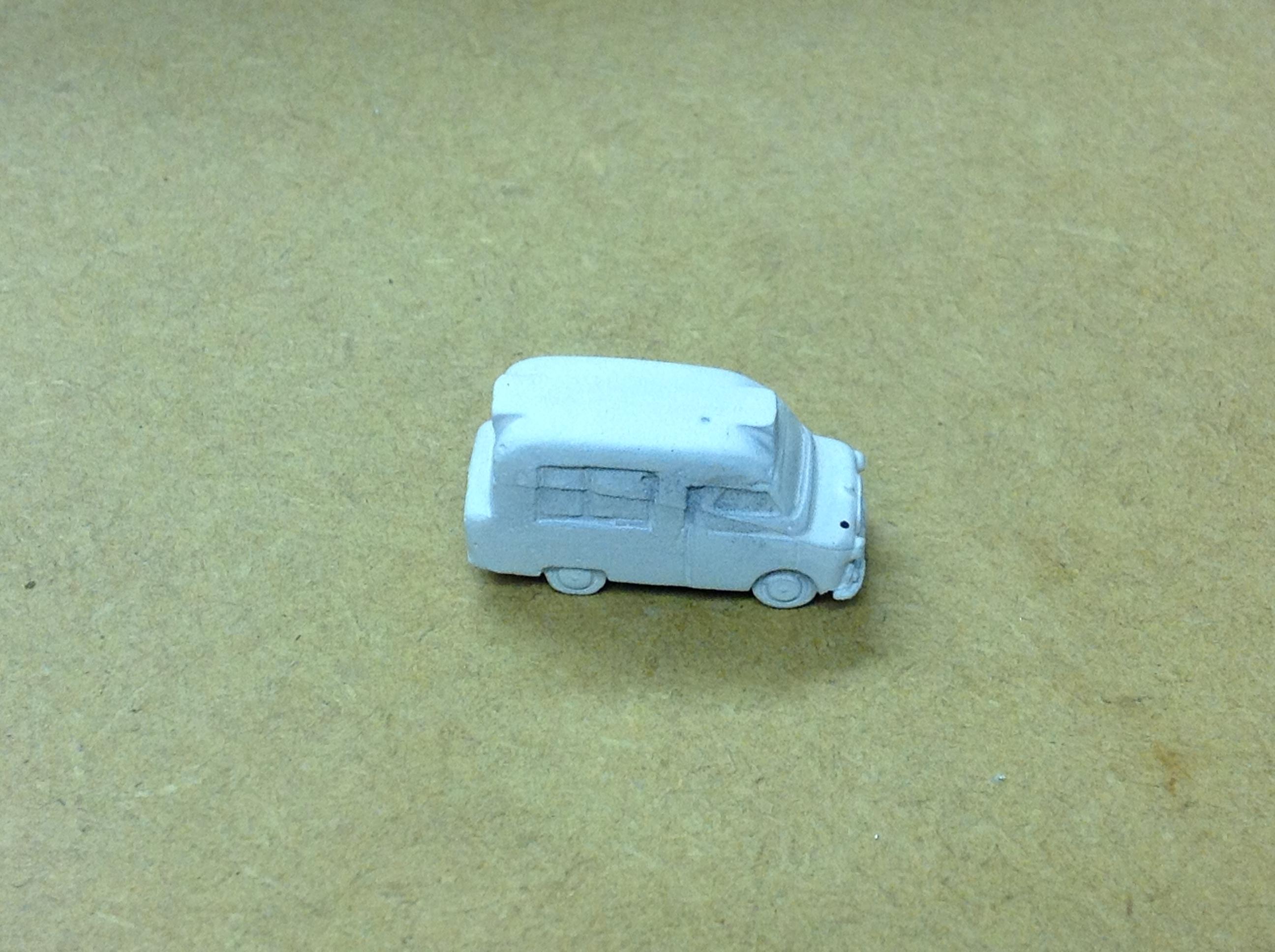 N217  Bedford Ice Cream Van