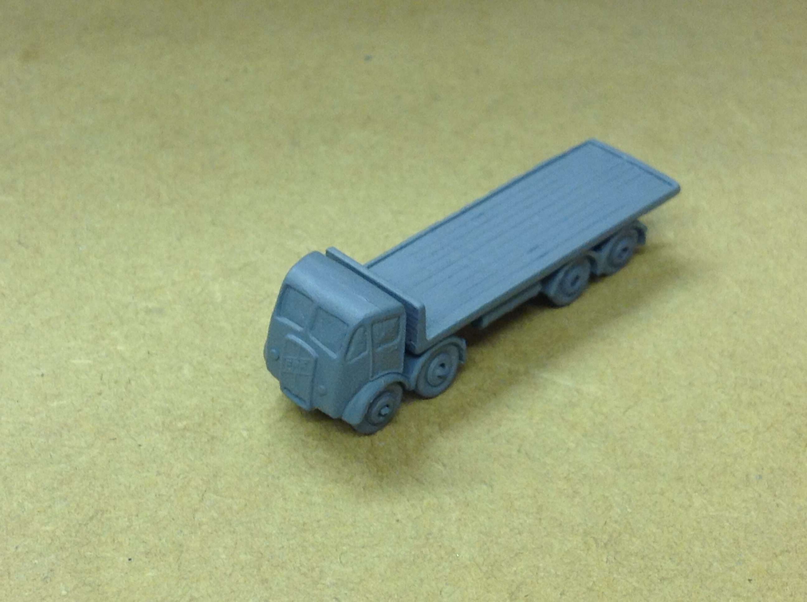 N327 ERF 8 wheel Flatbed
