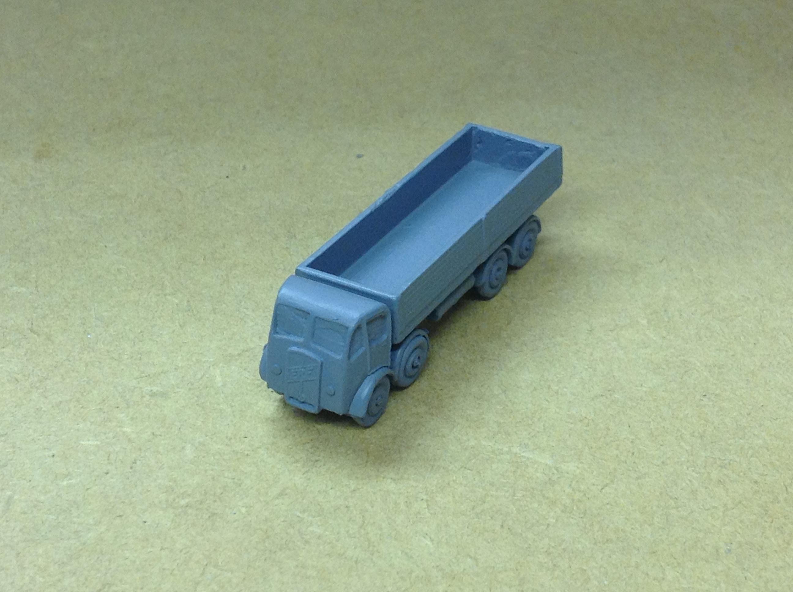 N328 ERF 8 wheel Lowside
