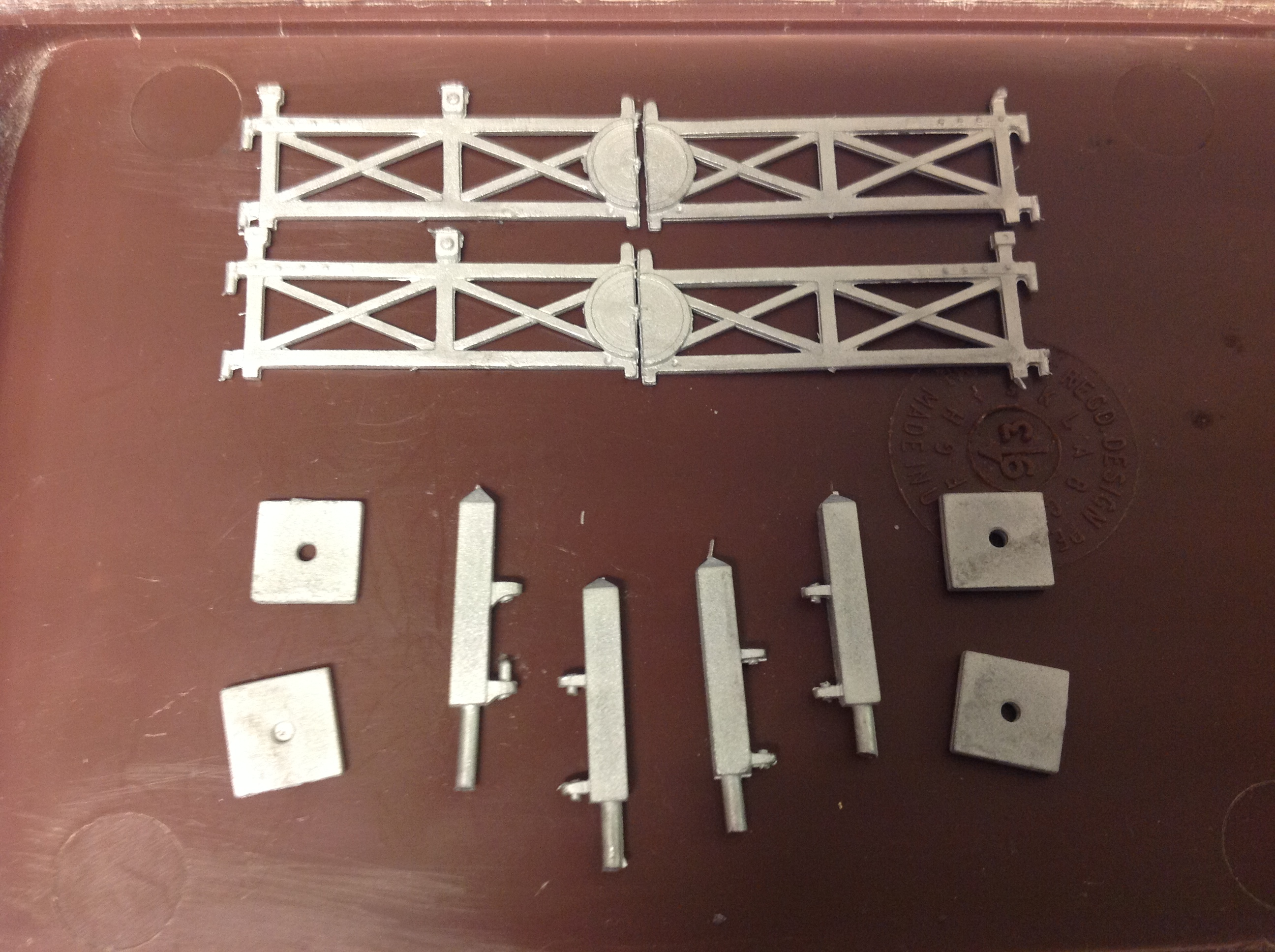 N72a Double Track Crossing Set