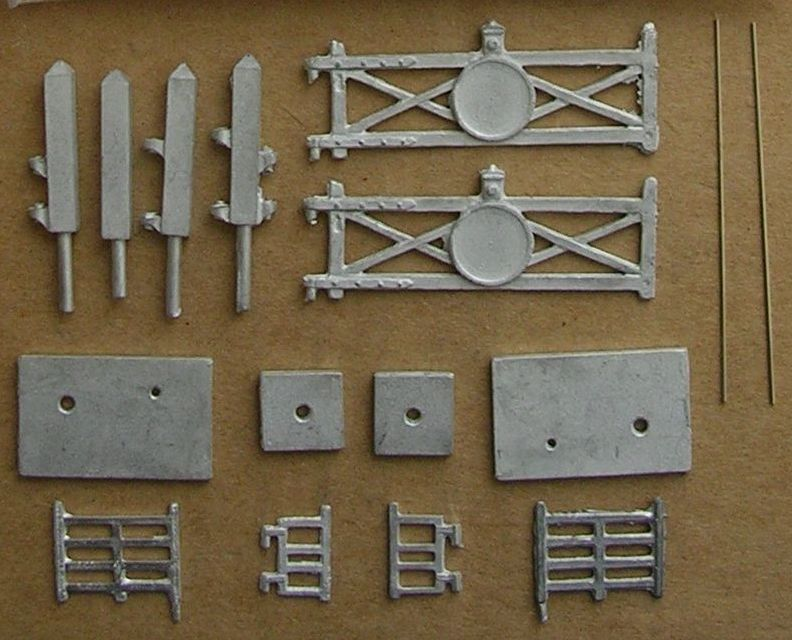 N73 Single Track Crossing set with Wicket Gate