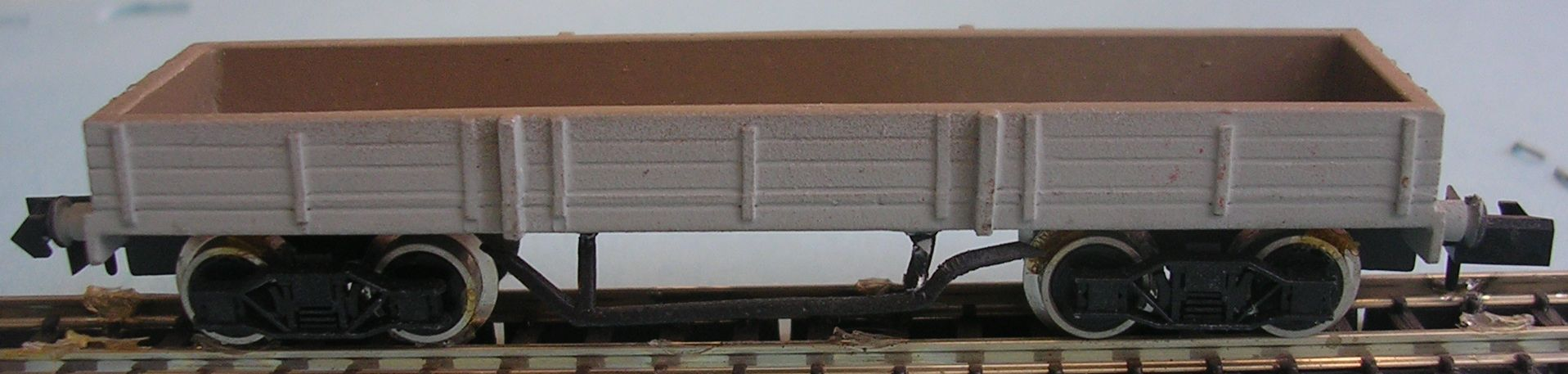 NW18 BR 38ft Bogie Steel Plate Wagon