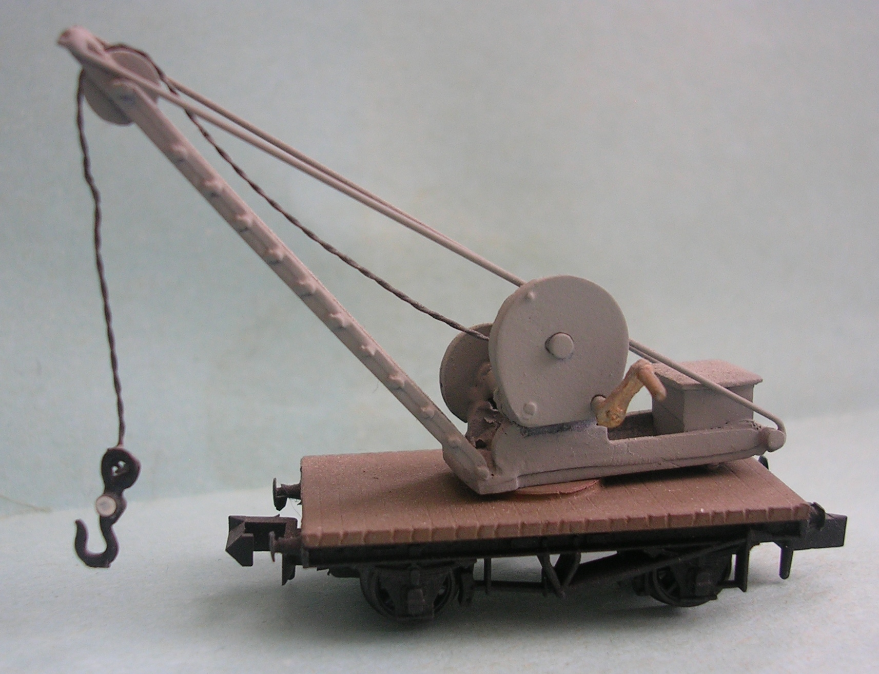 NW41 GWR Travelling Hand Crane