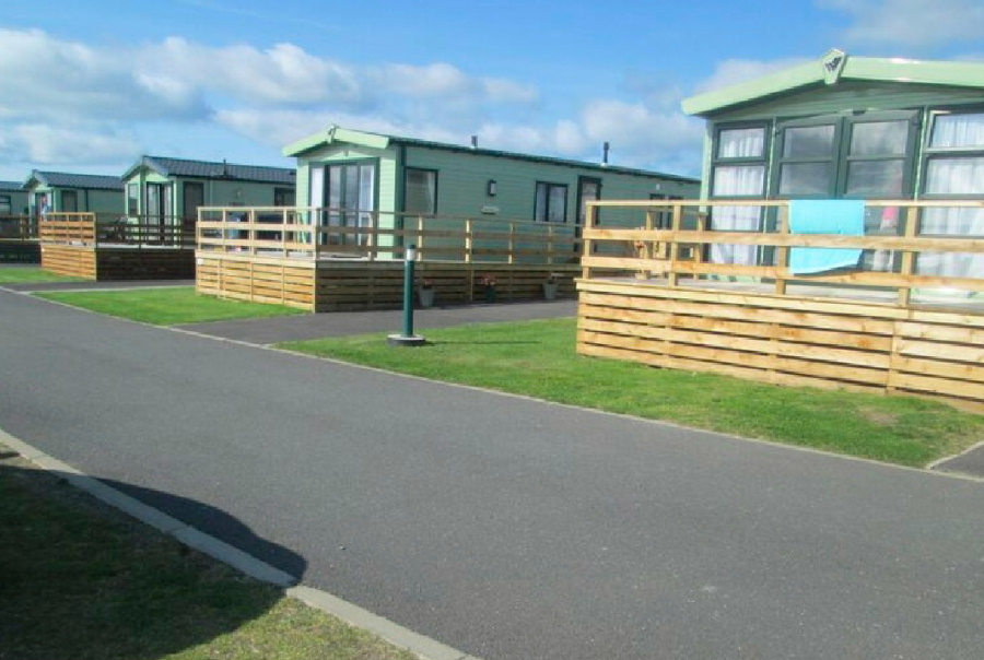 New access roads at Sands of Luce Holiday Park by Torbet Plant of Stranraer