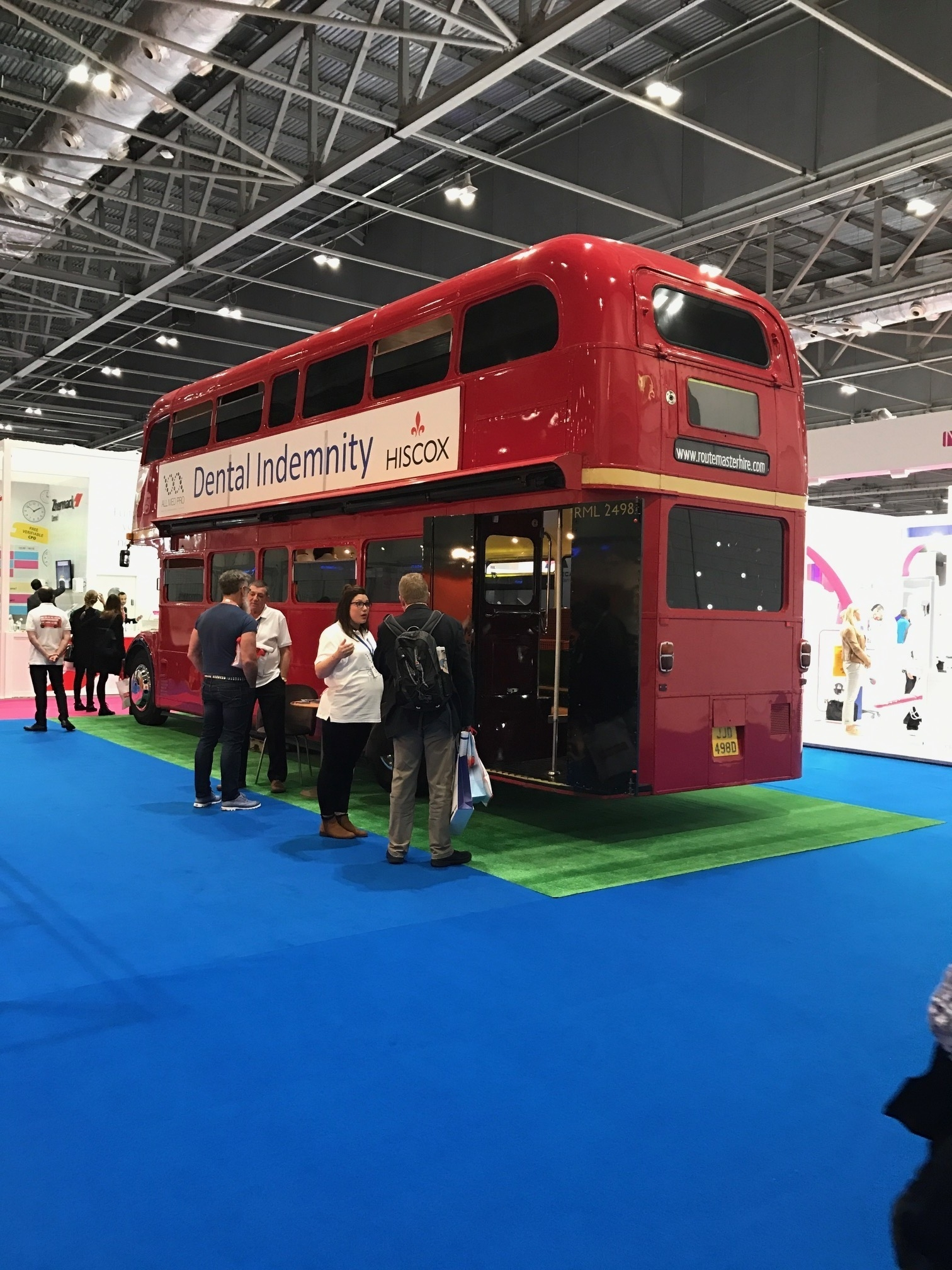Dental Indemnity Insurance Red Bus
