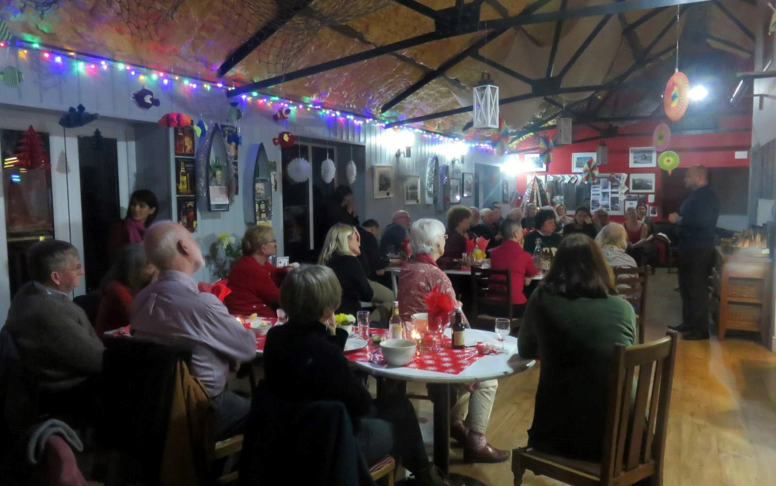 Fundraiser at Fisherman's Rest, Cardigan