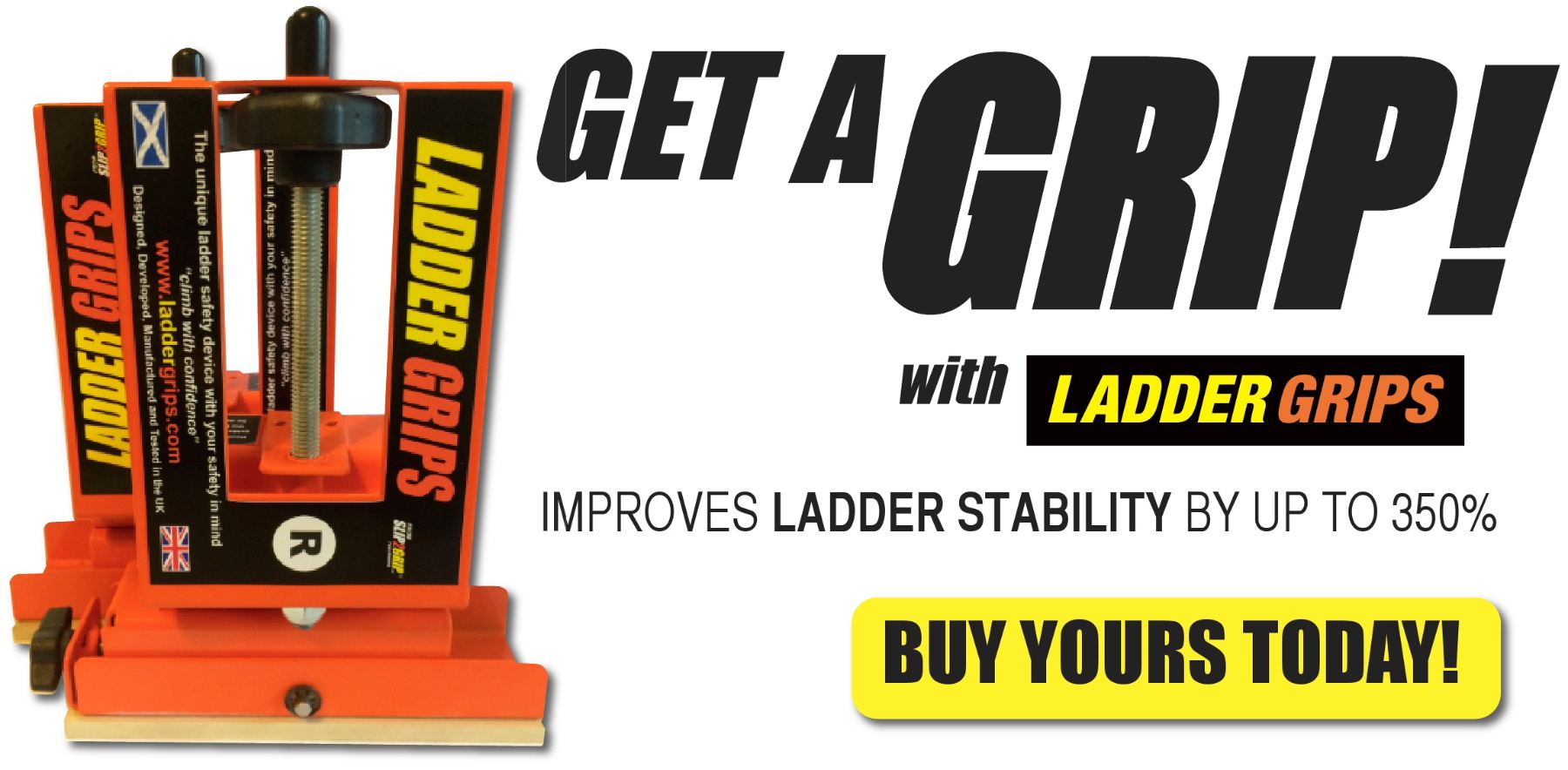 Ladder safety devices in the United States Ladder Grips