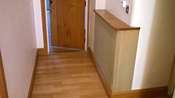 Turn unsightly pipework into a usable cabinet