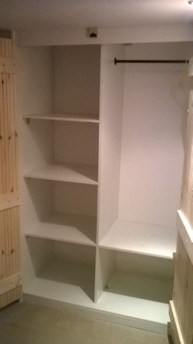Bespoke Built in Wardrobe - made from scratch