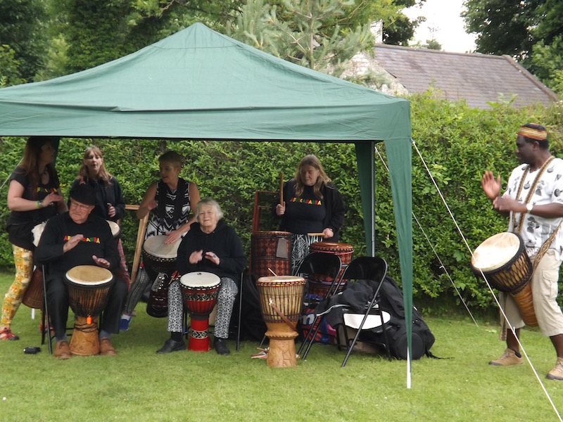 Entertainment at The John Paul Jones Museum, Kirkbean, Dumfries and Galloway, Scotland