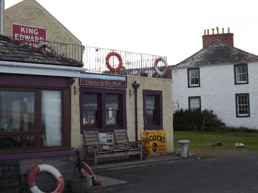 The Steamboat Inn at Carsethorn, Dumfries and Galloway, Scotland