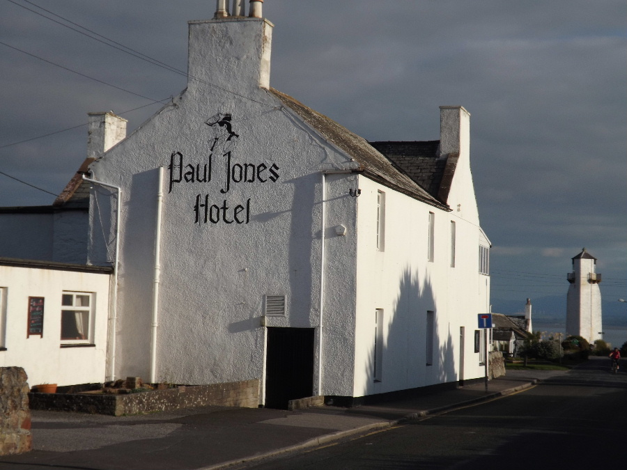 The Paul Jones Hotel at Southerness, Dumfries and Galloway, Scotland kirkbean.org