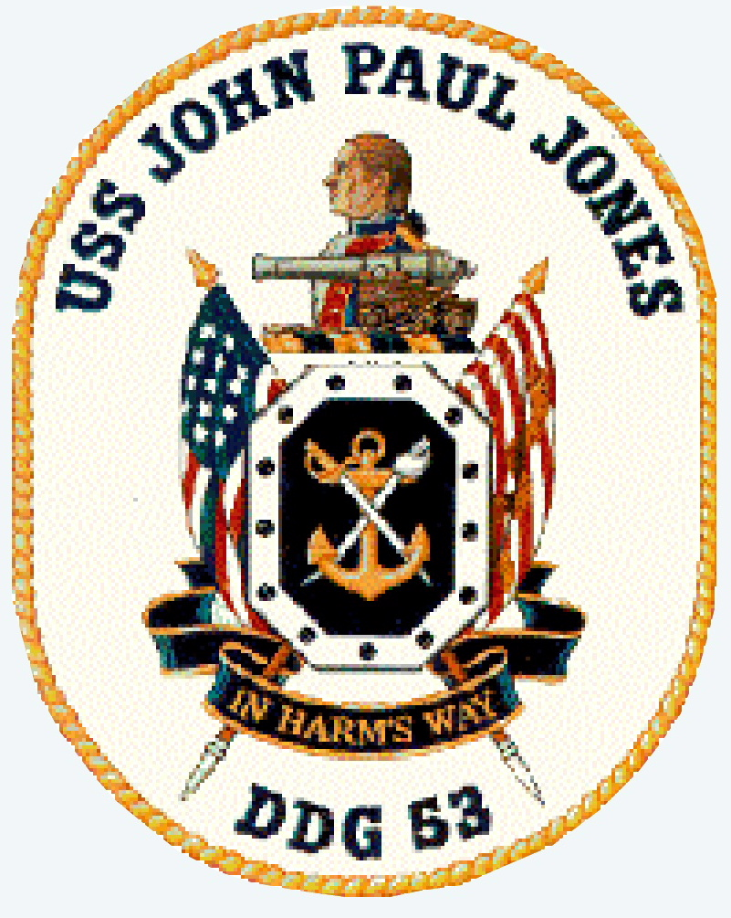 Kirkbean Parish Heritage Society A United States Navy Patch from the US War Ship USS John Paul Jones