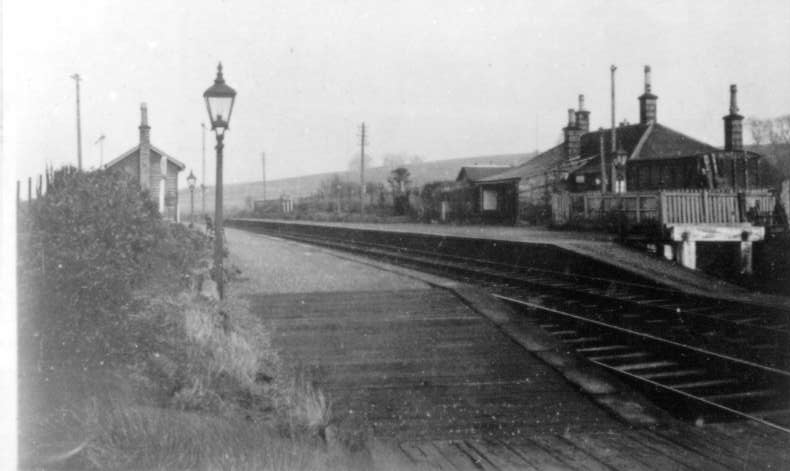 View of the platforms and station at Southwick in the 1960s