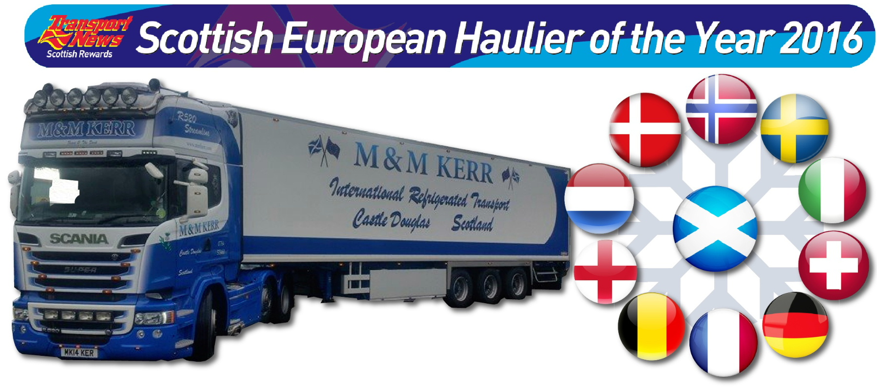 M&M Kerr Scottish European Haulier of the Year 2016
