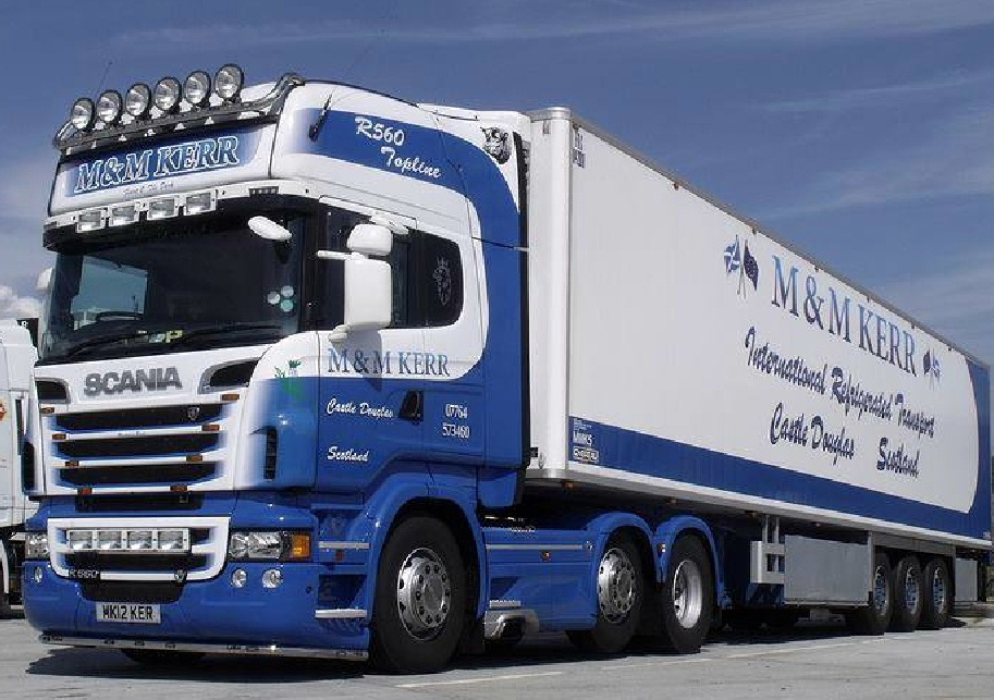 M & M Kerr International Refrigerated Transport