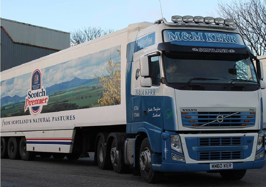 Scottish meat hauliers M & M Kerr